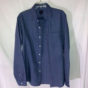 J Crew Button Front Long Sleeves Shirt